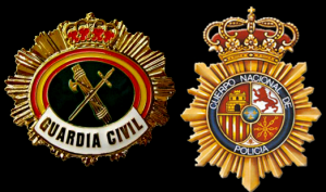 policia nacional y guardia civil